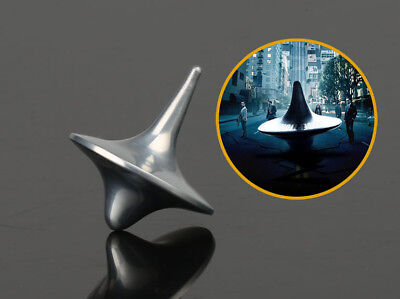 Inception Totem Accurate Spinning Top Zinc Alloy Silver