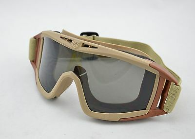 USMC Z87 Face Guard Tactical Safety Goggle Glasses Cycling Sport