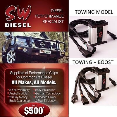 Sw Diesel High Performance Chip Holden Colorado 2.8 Or 3.0 Td Power & Economy Dp