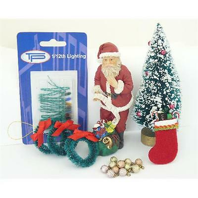 Hobbies Dolls House Christmas Bundle 12th Scale