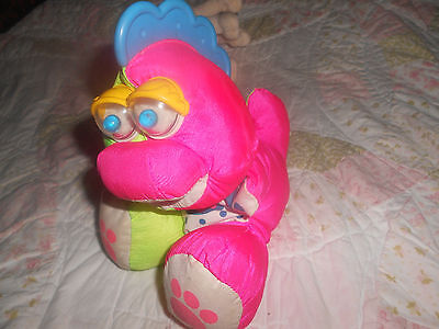 PUFFALUMP BY FISHER PRICE PLUSH RATTLES NICE SMALL BABY TOY
