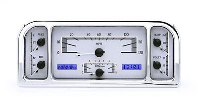 VHX-37F: 1937-38 Ford VHX Instrument (Silver Alloy White)