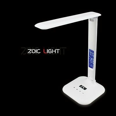 New LED Desk Bedside Reading Lamp Table Light Touch Control Adjustable Rotatable