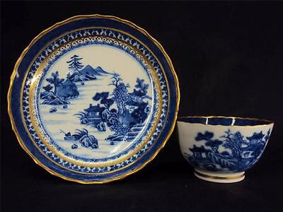 Superb Quality! Qianlong1736-95 blue and white dish & tea bowl Chinese Antiques