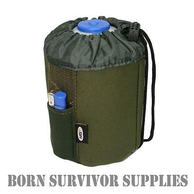 NEOPRENE INSULATED GAS CANISTER JACKET 450g - Can Case Cover Bag Camping Stove