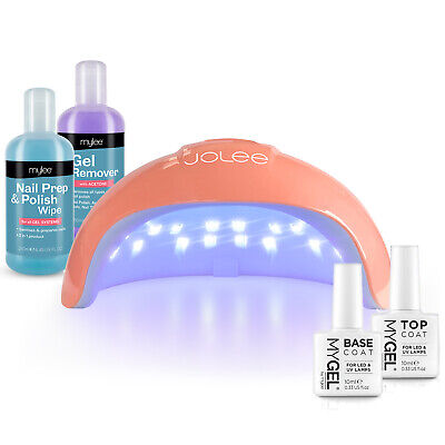 Mylee LED Nail Lamp Top Base Coat Prep Wipe Remover Kit  Gel Polish