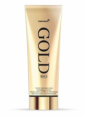 Tannymaxx Gold 999,9 Finest Anti Age Bronzing Lotion 200 ml.