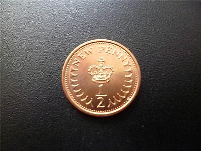 1973 Uncirculated Half Penny Piece. 1973 1/2P Coin In Uncirculated Condition.