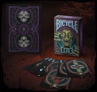 Bicycle Eerie Purple Limited Edition Playing Cards Deck New Sealed