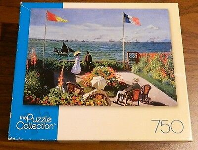 The Puzzle Collection The Terrace At Sainte-Adresse 750 Piece New