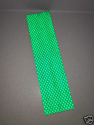 3M Green Engineer Grade Prismatic 3437 Adhesive Reflective Tape Strip 50mmx200mm