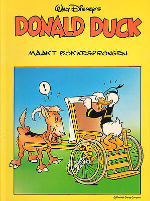DONALD DUCK MAAKT BOKKESPRONGEN - Walt Disney