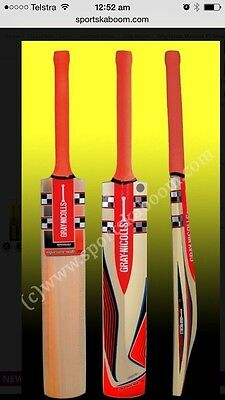 Gray Nicolls Maverick F18 Smasher Kashmir Willow Cricket Bat (Indoor) +Free Ship