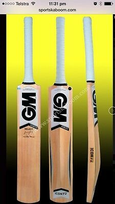 GM Icon Select Kashmir Willow Cricket Bat (Indoor), AU Stock Free Ship & Extras