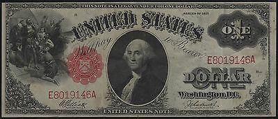 Fr37 1917 Series $1.00 Legal Tender Elliott / Burke Br8611