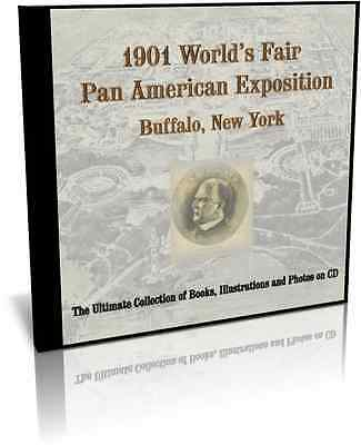 1901 Worlds Fair Pan-American Exposition in Buffalo, New York on CD