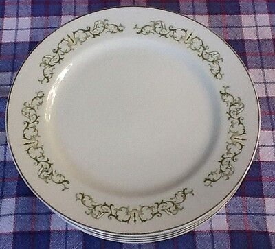 Bell Flower Fine China- Six Dinner Plates - Made In Japan