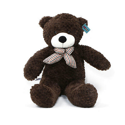 "Joyfay® Big 39""100cm Cocoa Brown Teddy Bear Soft Stuffed Plush Toy Birthday Gift"