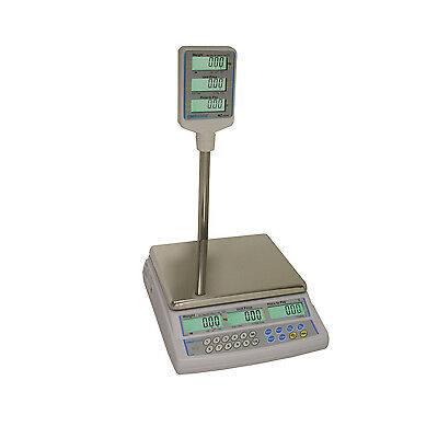 AZextra Price Retail Scales /Shop Scale Legal For Trade Use Deli Butchers Grocer