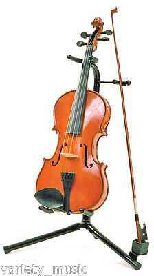 CPK - Tubular style violin stand with rubber protection for neck and body.