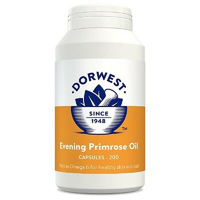 Dorwest Evening Primrose Oil Capsules x 200, Premium Service, Fast Dispatch