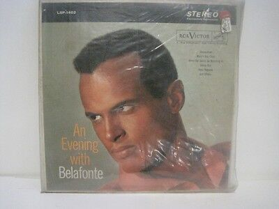 "Harry Belafonte ""An Evening with Belafonte"" LSP-1402 Vinyl Record 12"" LP RS19"