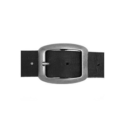 Mens Womens Vintage Silver Alloy Classic Square Oval Belt Buckle NEW