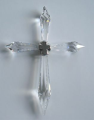 Crystal Cross Handcrafted With Swarovski Crystal