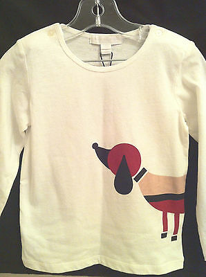 Burberry Baby Children Kids Boy/girl White Graphic Long Sleeve Shirt!!! Size 3