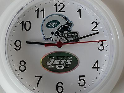 New York Jets NFL Football  ( decaL logo) wall Clock (New) Battery Operated