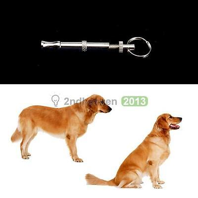 Pet Dog Training Obedience Whistle UltraSonic Supersonic Sound Pitch Quiet Tool