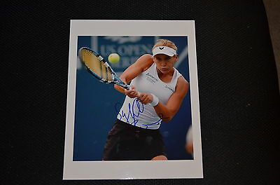 SYBILLE BAMMER signed Autogramm 20x25 cm In Person TENNIS  Österreich