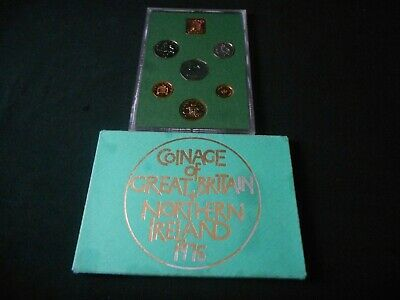 Coinage of Great Britain & Northern Ireland 1975 free UK Postage