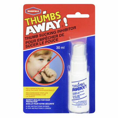 Mansfield Thumbs Away 30Ml Thumb Sucking Inhibitor Non Toxic Stop & Prevent