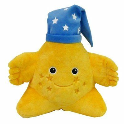 "Brand New Genuine Sprout Plush - 11"" Star with Night Cap by Fiesta"