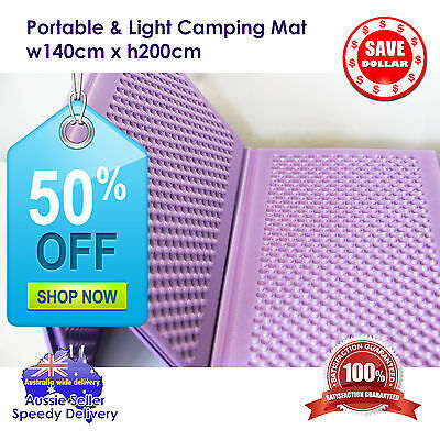 50%OFF Portable Foldable Foam Pad Mat Cushion Outdoor Picnic Floor Camping Soft