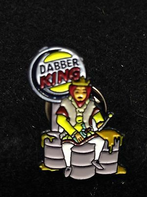 Dabber King Hat Pin ,heady Pin