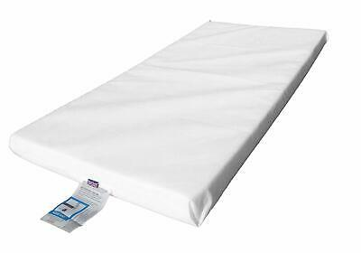 LAURA 119x59cm Baby Travel Cot Mattress 7cm Thick -  Fits Brevi Travel cot