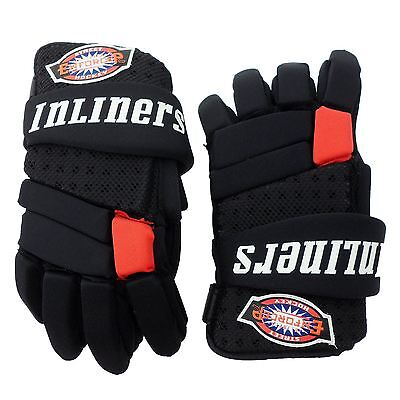 Inliners Roller Skates Ice Hockey Brace Gloves Wrap Guard Protective Gear Black