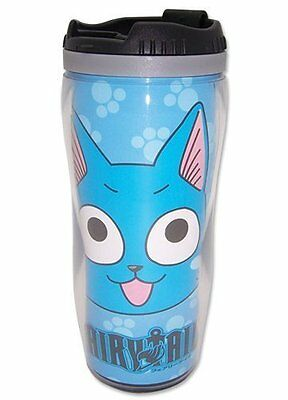 *NEW* Fairy Tail Happy Tumbler Mug