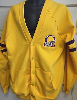 Omega Psi Phi Cardigan Sweater In Old Gold Color Comes In Medium To