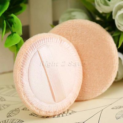 Lot 12Pcs Facial Face Natural Sponge Makeup Cosmetic Powder Puff Pad Beauty Tool