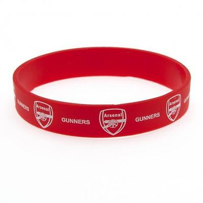 *OFFICIAL*  Arsenal F.C.  Rubber WRISTBANDS (Silicone) One Size Fits All