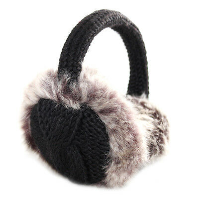 Womens Ladies Warm Winter Earmuffs with Faux Fur