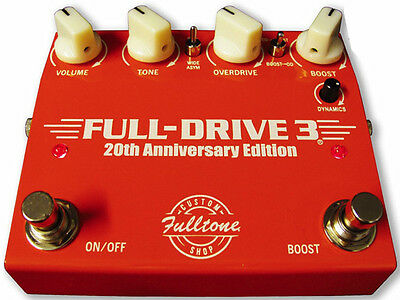 Fulltone Fulldrive 3 Custom Shop 20th Anniversary