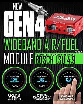 New! GEN-4 PLX Air/Fuel Module with wideband O2 Sensor - FREE PRIORITY SHIPPING!