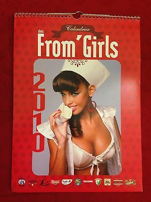 Pin-up calendar From Girl from France (Cheese Lady Calendar) 2010