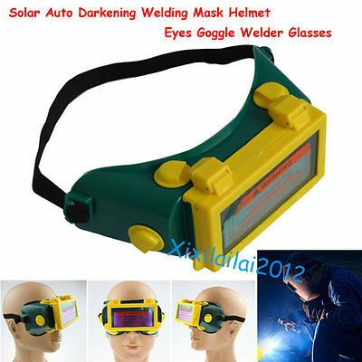 Pro Solar Auto Darkening Welding Mask Helmet Eyes Goggle Welder Glasses Arc dmd