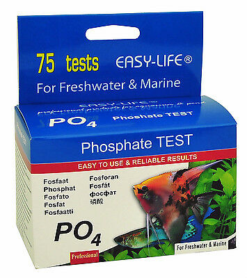 Easy Life Phosphate (PO4) 75 test liquid test kit