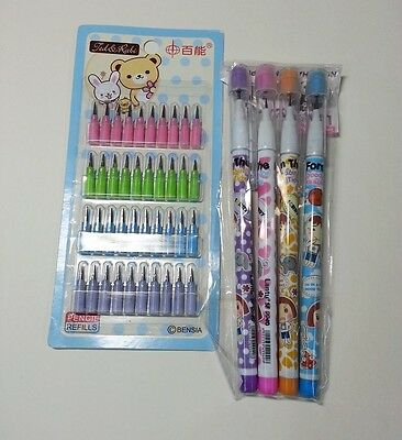 NON-SHARPENING  pencil+lead set(40 pcs)